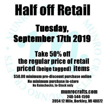 Munro Crafts Wholesale