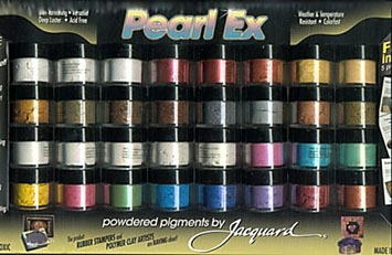 Jacquard Pearl Ex Powdered Pigments -32 Set